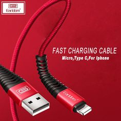 Fast Charging Cable - for Iphone ONLY $1.68  #chargingcable #chargingiphone #foriphone Data Transmission, Cheap Mobile, Photography Tools, Digital Trends, Charging Cable, Communication, Usb, Samsung, Iphone