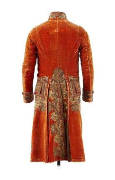 First Consul jacket owned by Napoleon Bonaparte, 1800 From the Chateau de  Malmaison Costume Collection