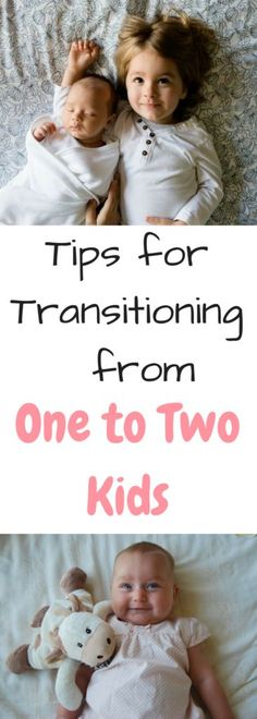 Parenting tips and tricks for going from one to two kids. Advice about growing your family. Going from one to two kids.