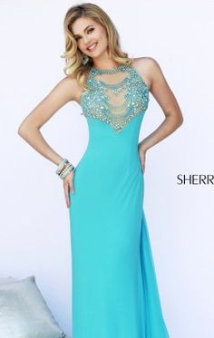 Beaded Evening Gown by Sherri Hill 32043