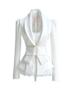 The previous pin labelled this as a #wedding jacket. Not taken by that idea for it, but I absolutely LOVE this jacket.
