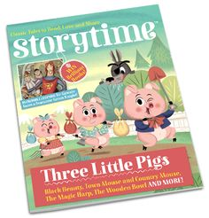 Storytime Magazine has just arrived through the letter box. Looking forward to reading with Isabella