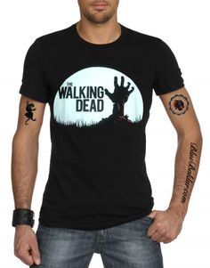 The Walking Dead T-shirt in black by Broadway.