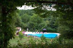 Camping met zwembad VALENTHEZE Frankrijk Dordogne Limousin