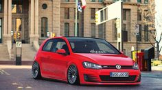 VW Golf MK7 GTI on Rotiform IND wheels