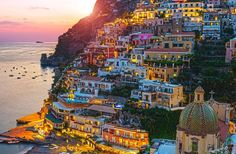 Positano on the Amalfi Coast, Italy. I cannot wait to be here one day.