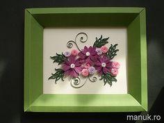 Quilled Simple Flower Arrangement