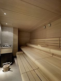 four season spa patricia urquiola Spa Interior, Piscina Interior, Interior Garden, Serene Bathroom, Bathroom Spa, Small Bathroom, Wc Design, Sauna Design, Sauna Steam Room
