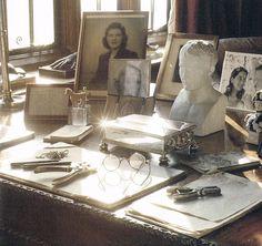 Churchill's desk