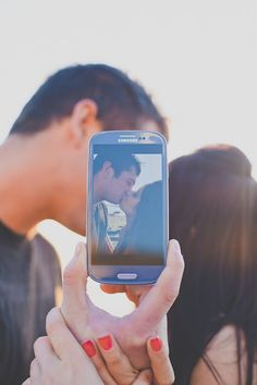 #cellphone Photo within a photo