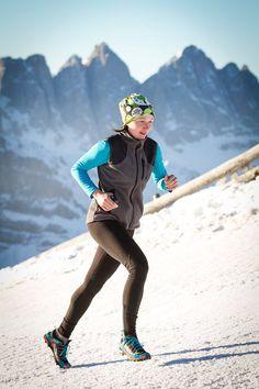Ranní trénink před lyžovačkou, Plose, Itálie