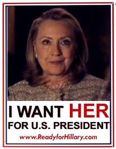 Hillary Rodham Clinton for President 2016 Wife, mom, lawyer, women kids… Hillary For President, Hillary Clinton 2016, Madam President, Hillary Rodham Clinton, Hair Icon, Equal Rights, Democratic Party, Jfk