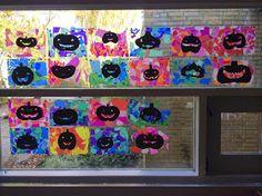 Bidt af billedkunst!: Græskar - til vinduet