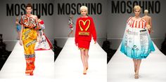 Moschino FW14-15 #Fashion #Runways Hipster Fashion, High Fashion, Emperors New Clothes, Warhol, New Outfits, Moschino, Cover Up, Women Wear, Runway