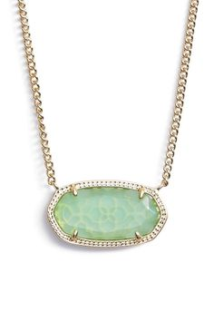 New! Kendra Scott  Dylan Stone Pendant Necklace, Chalcedony, Gold, 4217712347. Free shipping and guaranteed authenticity on New! Kendra Scott  Dylan Stone Pendant Necklace, Chalcedony, Gold, 4217712347 at Tradesy. Kendra Scott 4217712347 Dylan Stone Pendant Neck...