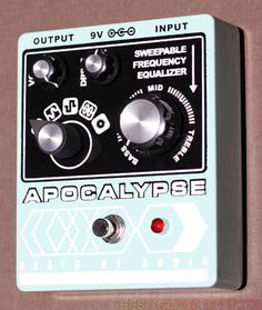 EXCLUSIVE: Death By Audio Apocalypse review. With an amazing 5 modes of operation, find out if this is the best fuzz distortion pedal around. Death By Audio