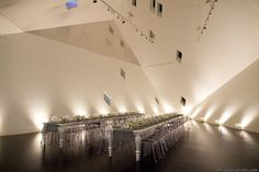 Contemporary Jewish Museum in San Francisco, California.    Lighting by Got Light.