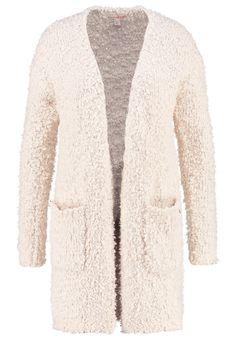 OM TAILOR DENIM Strickjacke alabaster beige melange Bekleidung bei Zalando Om, Fur Coat, Beige, Denim, Sweaters, Jackets, Fashion, Knit Jacket, Down Jackets