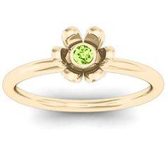 Stone in 'Magnolia' Ring #jewlr