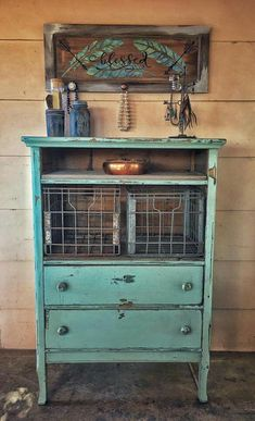 Repurposed Office Fu - November 27 2018 at Refurbished Furniture, Paint Furniture, Repurposed Furniture, Shabby Chic Furniture, Furniture Projects, Furniture Makeover, Dresser Repurposed, Furniture Refinishing, Distressed Furniture