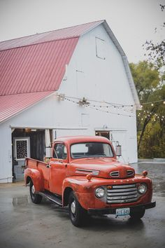 Every farm fantasy includes a barn, a tractor, and a pick-em-up truck.