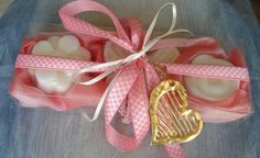 Pink and White-Elegant Gift Set for Women with Luxury Scented Soaps & a Handmade Jewelry Necklace:Ideal for Anniversary,Feast,Birthday,Party Handmade Clothes, Handmade Jewelry, Pink 2016, Valentine Day Gifts, Valentines, Pink Palette, Gift Sets For Women, Cute Gifts, Pink And Gold