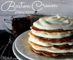 ~Boston Cream Pancakes!