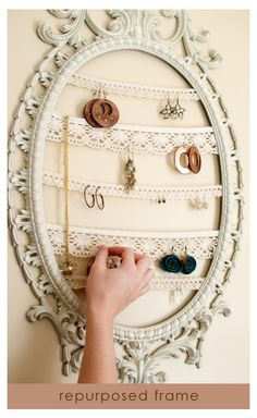 I'd really like to get rid of my clunky jewelry box that I can never get into because of the junk piled on top. This may be a nice alternative.