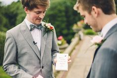 Bow tie and suit.  On Falconhurst Estate, Kent for the wedding of Pinar & Richard.