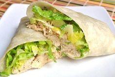 Weight Watchers Chicken Caesar Wrap Recipe