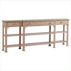 Preserve - Brighton Sofa Table in Rose - 340-75-05 living room  - Stanley Furniture