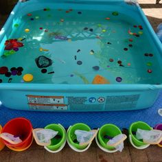 Nature Activities, Group Activities, Activities For Kids, Dragon Crafts, Rainbow Fish, Water Games, Baby Play, Sensory Play, Earth Day