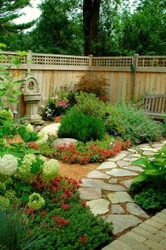 30 Wonderful Backyard Landscaping Ideas ~ Love The Pathway ♥