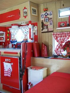decorated travel trailers | 1969 Vintage Travel Trailer