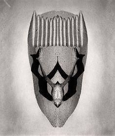 Mask #5 photocollage 1994