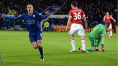 BBC Sport - Jamie Vardy breaks record for goals in consecutive games