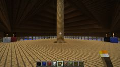 LizC864 Minecraft: Team Beach House: Huge empty attic to decorate or use as you wish