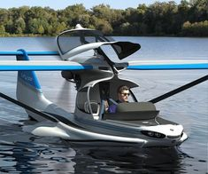 World's Most Advanced Plane (MVP) is designed as a light sports amphibious aircraft that doubles as boat. Amphibious Aircraft, Amphibious Vehicle, Light Sport Aircraft, Flying Vehicles, Float Plane, Flying Car, Aircraft Design, Amphibians, Transportation