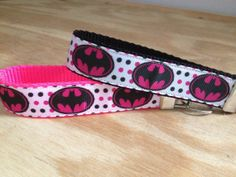 Batgirl  Key FOB wristlet by TheEmPURRium on Etsy, $6.50