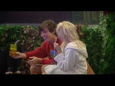 Big Brother UK Series 10 Day 12 - Charlie Kisses Rodrigo for a sip of hi...