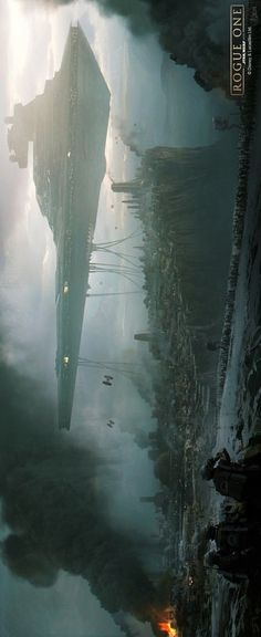 & III& (Concept arts for Rogue One) by Andrée W.- & III& (Concept arts for Rogue One) by Andrée Wallin & III& (Concept arts for Rogue One) by Andrée Wallin - Nave Star Wars, Star Wars Rpg, Star Wars Ships, Images Star Wars, Star Wars Pictures, Star Wars Concept Art, Star Wars Fan Art, Star Citizen, Tableau Star Wars
