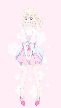 Shigatsu wa Kimi no Uso - Miyazono Kaori Your Lie In April, I Never Forget You, Fairy Tail, Miyazono Kaori, Beautiful Anime Girl, You Lied, Kawaii Girl, Me Me Me Anime, Anime Art