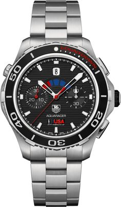 Tag Heuer Aquaracer 500M Calibre 72 Countdown Automatic Chronograph 43mm