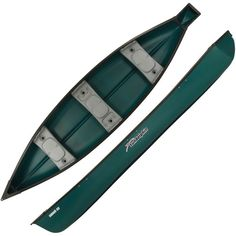 Sun Dolphin Scout 14 Square Stern Canoe, Green