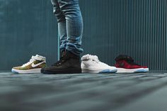Which is the best colourway from the Air Force 1 Ultra Flyknit Pack? Coming tomorrow.  http://ift.tt/1KEViNp