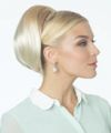 """Revlon Volume Bump - Hair Topper/ Beehive Topper Creates lift and volume to crown, bun or ponytail. Attaches with wire comb at base and secures with drawstring for a bun or pony tail. Hair length approx 8-9"""""""
