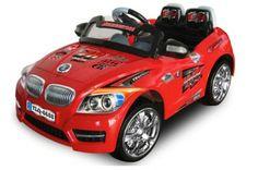 Sähköleikkiauto BMW, Punainen