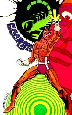 Jim Steranko's Scorpio from Nick Fury Agent of SHIELD #5