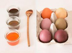 DIY-Anleitung: Ostereier natürlich färben / diy tutorial for Easter eggs with natural colors via DaWanda.com