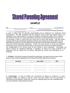 9 Best Custody Agreement Images Custody Agreement Child